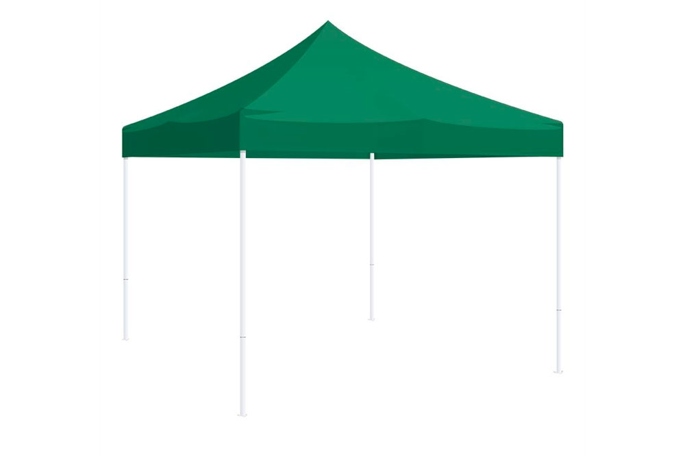 Carpa desmontable simple sin muros