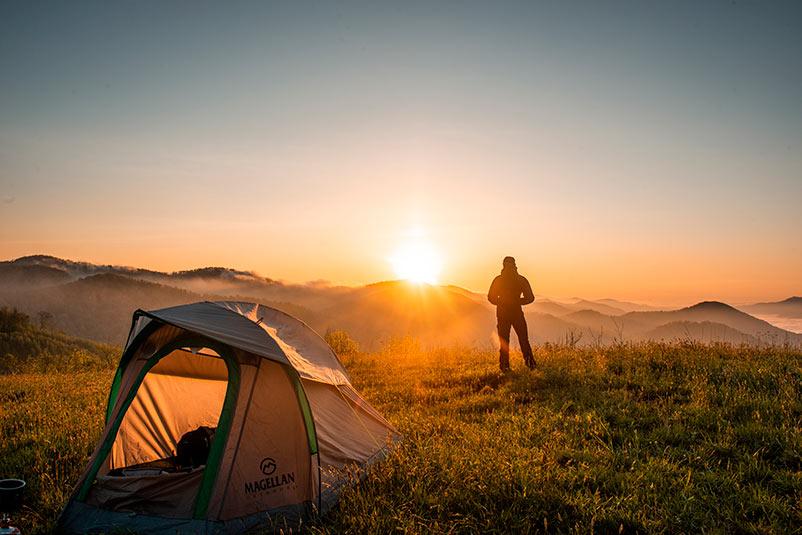Ducha portatil campamento