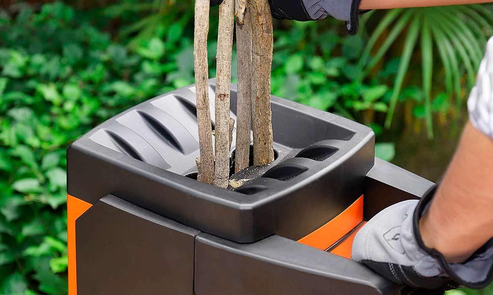 trituradora de ramas corte